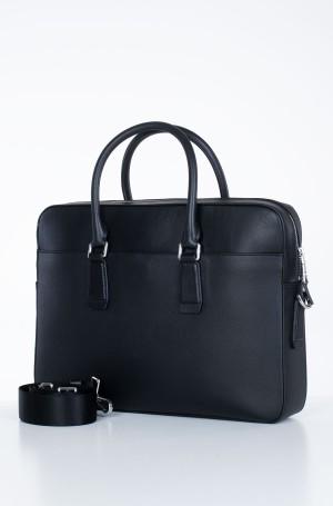Kompiuterio krepšys  BUSINESS LEATHER SLIM COMP BAG-2