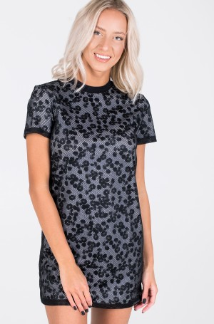 Suknelė DOUBLE LAYER FLORAL MESH DRESS-2