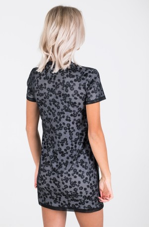 Suknelė DOUBLE LAYER FLORAL MESH DRESS-3