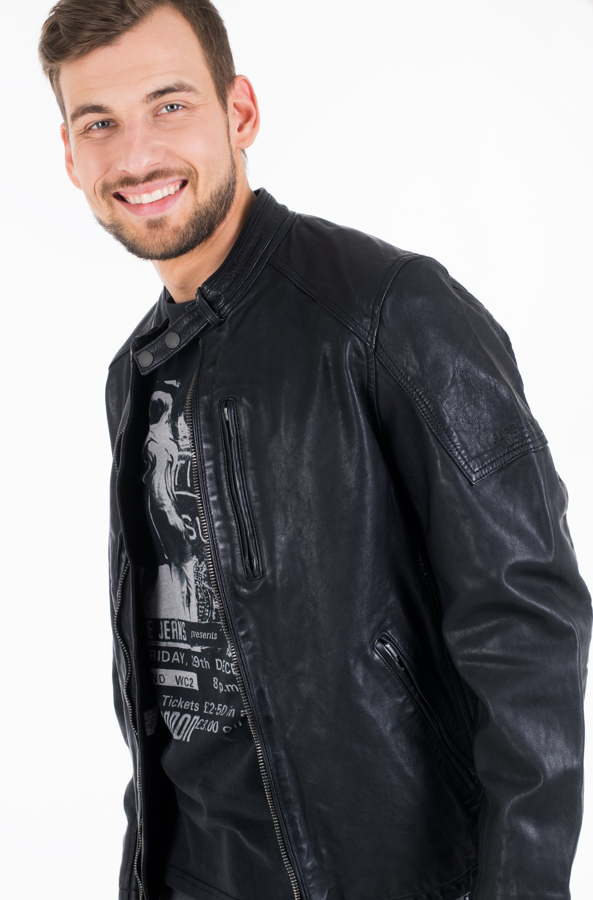 Leather jacket DONOVAN/PM402177-full-2