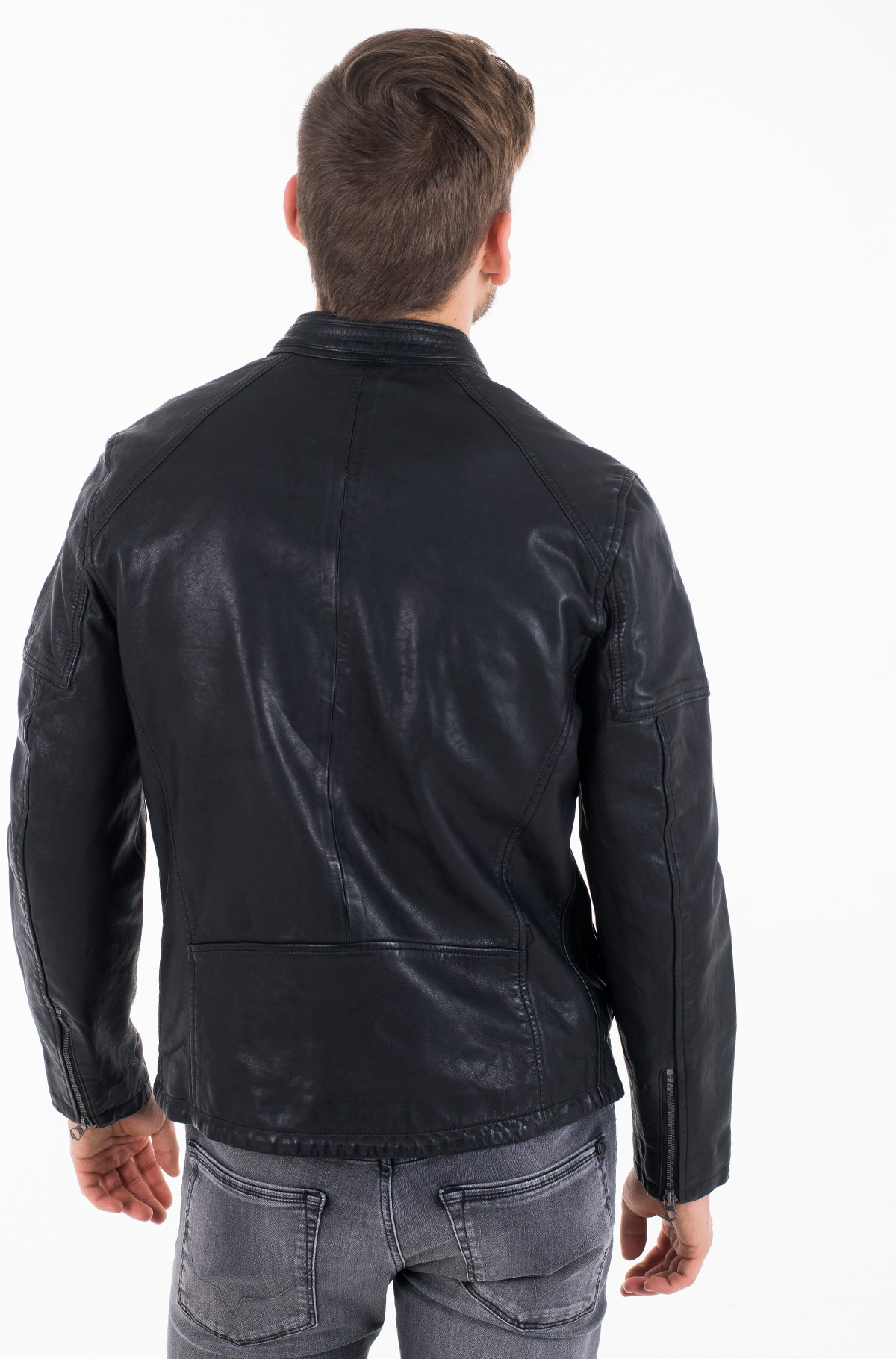 Leather jacket DONOVAN/PM402177-full-4