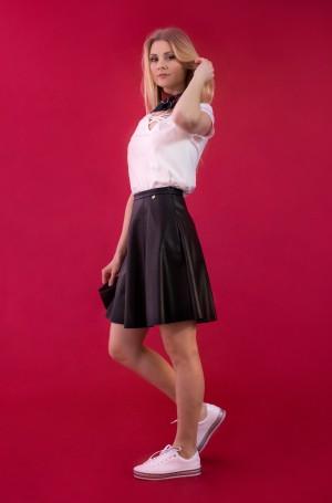 Leather skirt Vera-4