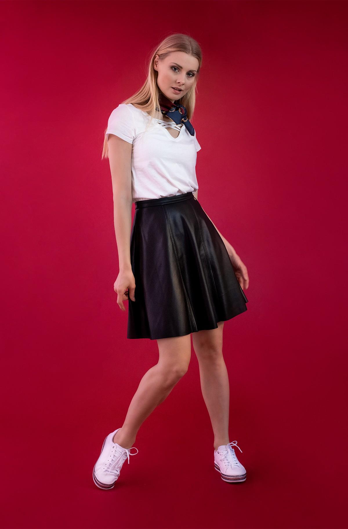 Leather skirt Vera-full-2