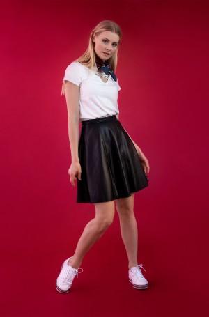 Leather skirt Vera-2