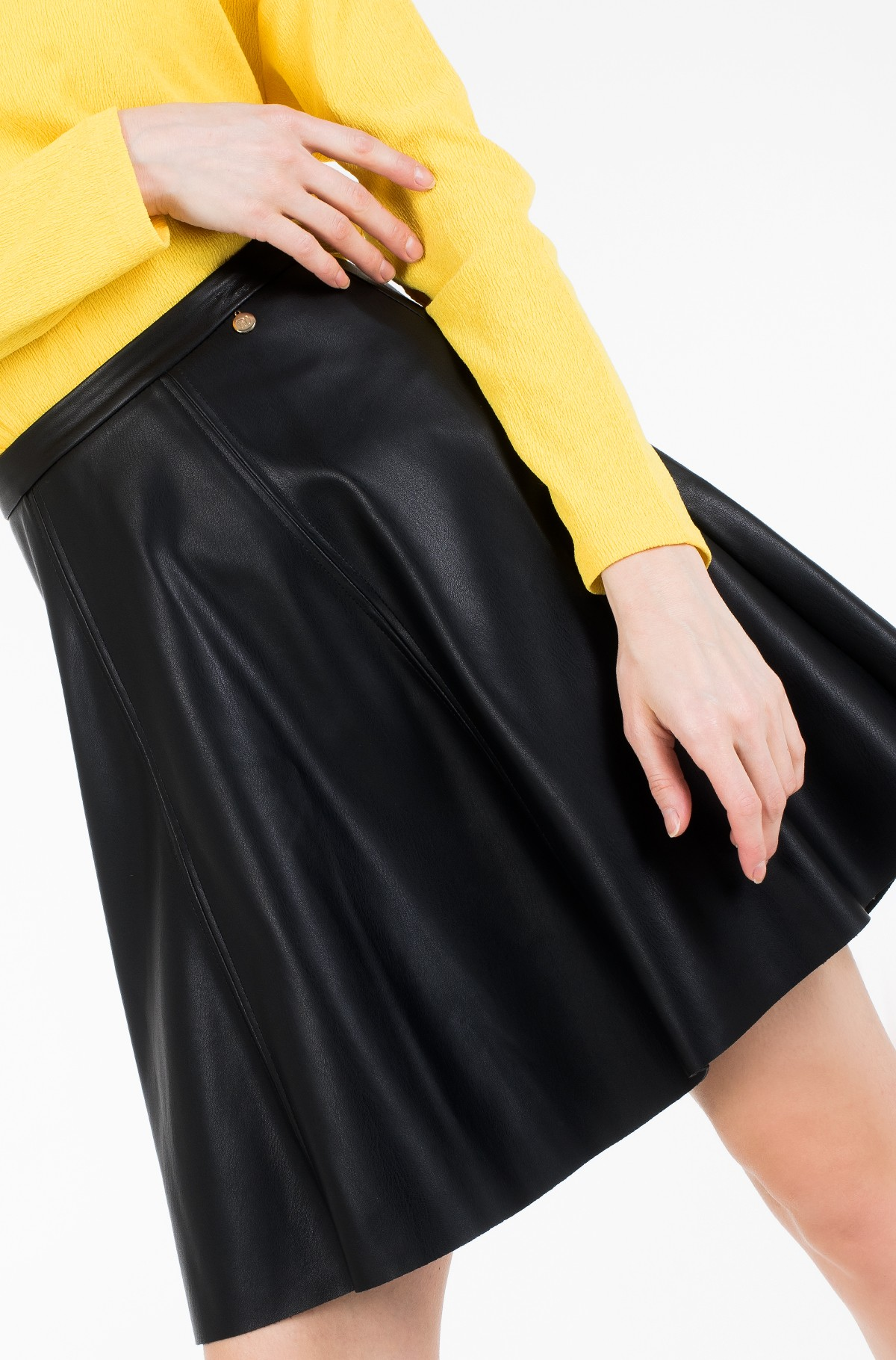 Leather skirt Vera-full-3