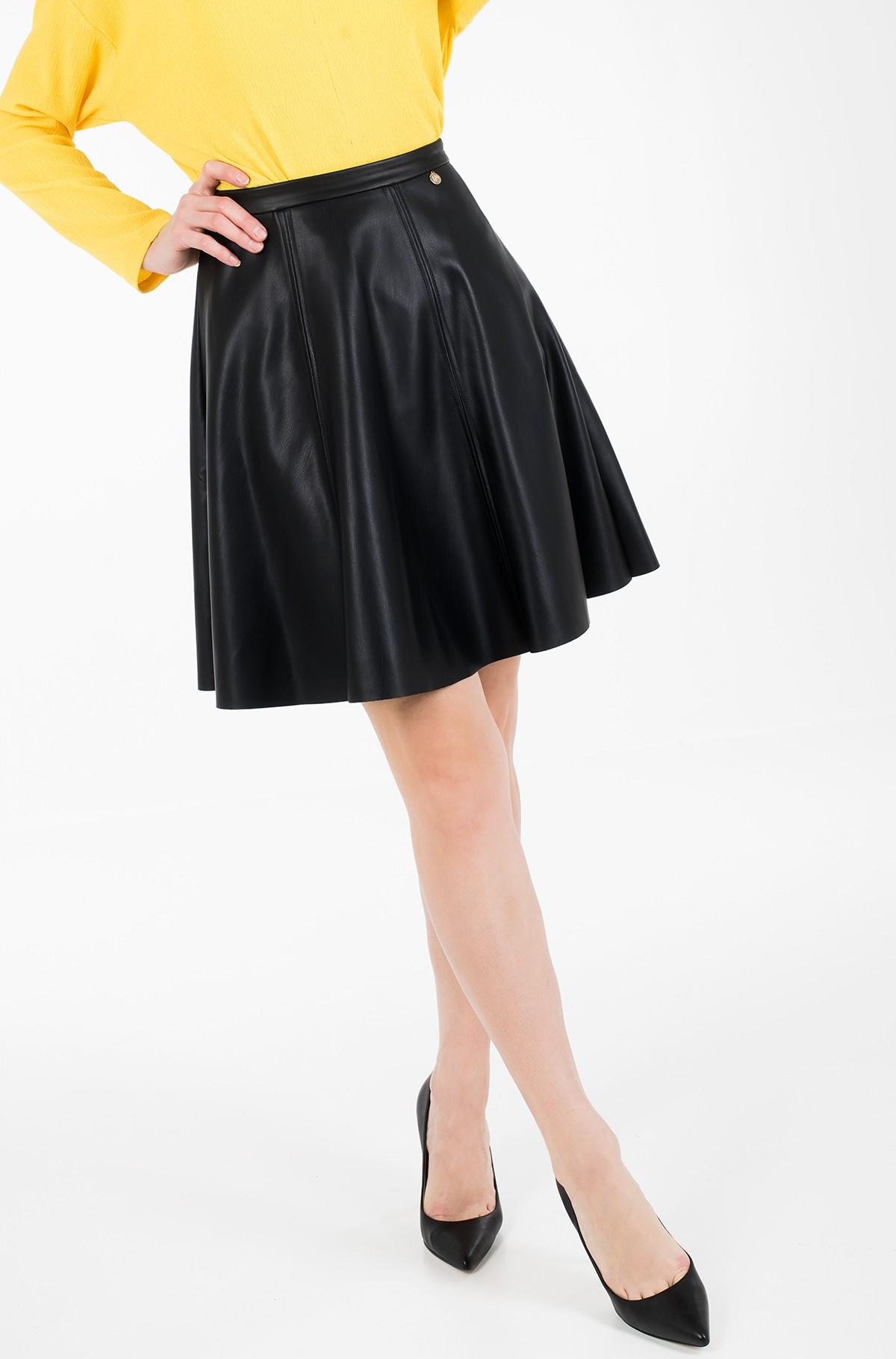 Leather skirt Vera-full-1