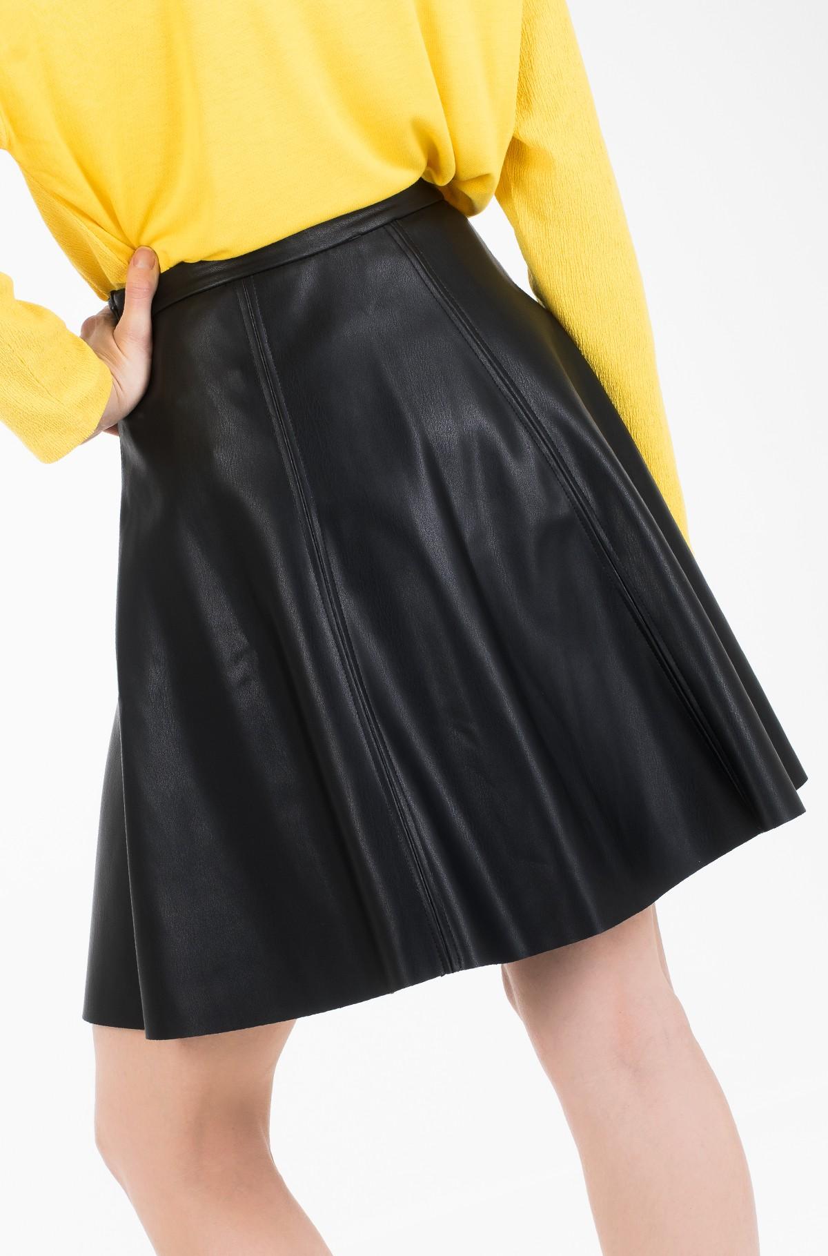 Leather skirt Vera-full-5