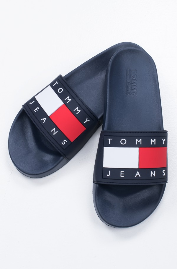 TOMMY JEANS FLAG POOL SLIDE