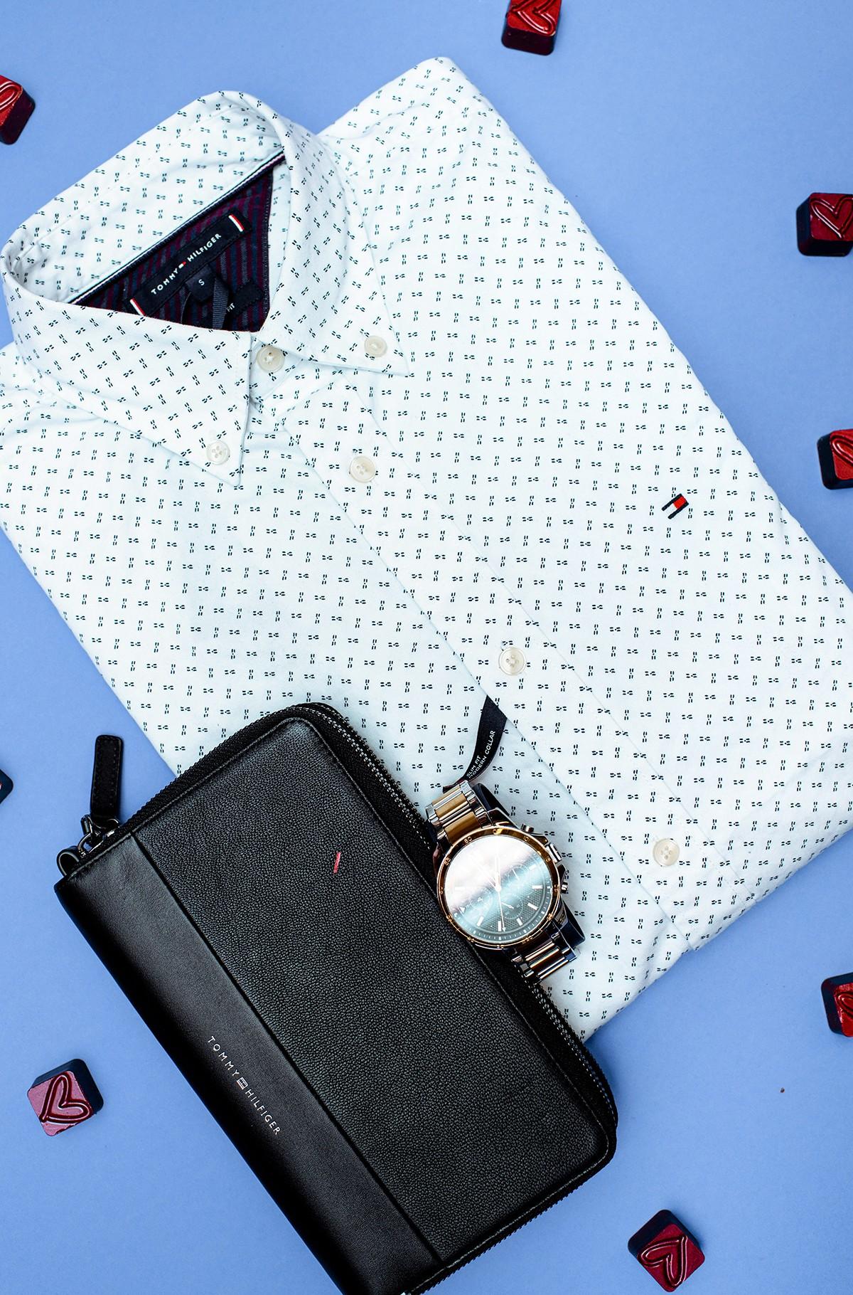 Shirt SLIM GEO PRINT SHIRT-full-2