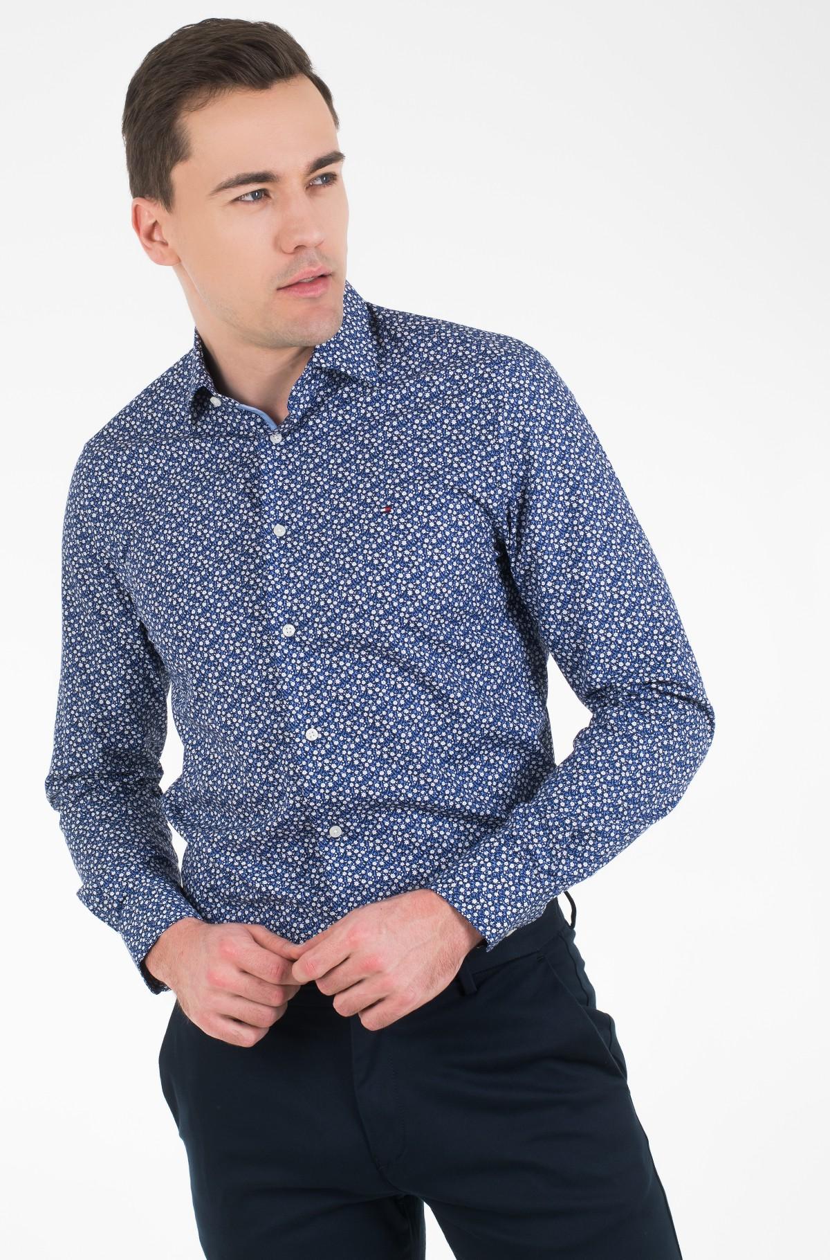 Marškiniai FLORAL PRINT CLASSIC SHIRT-full-1