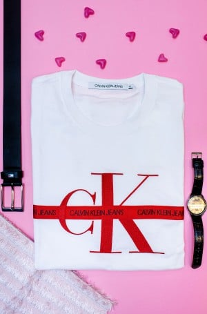 T-shirt TAPING THROUGH MONOGRAM REG TEE-2