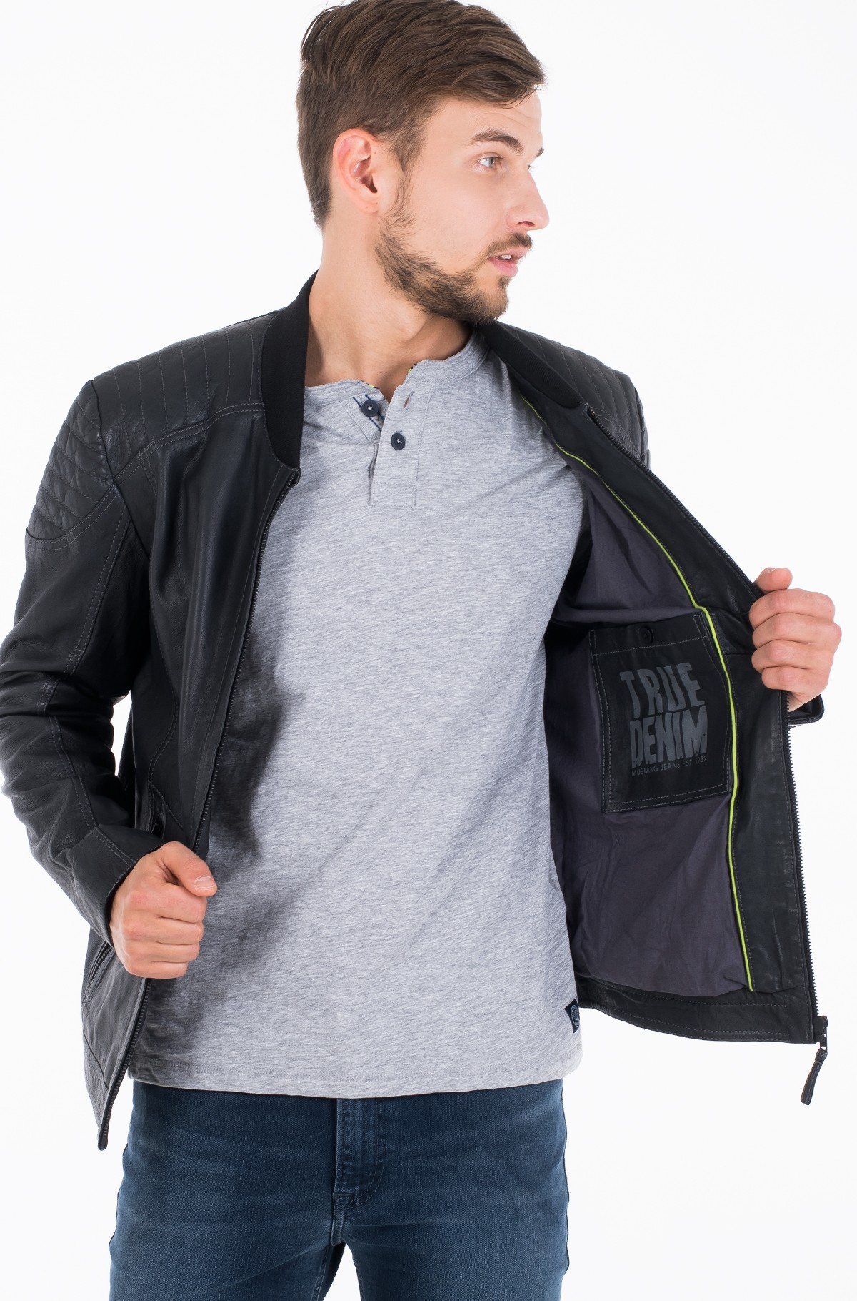 Leather jacket Tobi-full-3