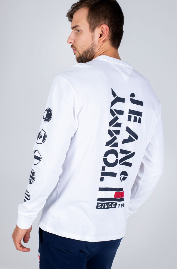 TJM BUBBLED FLAGS LONGSLEEVE TEE-hover