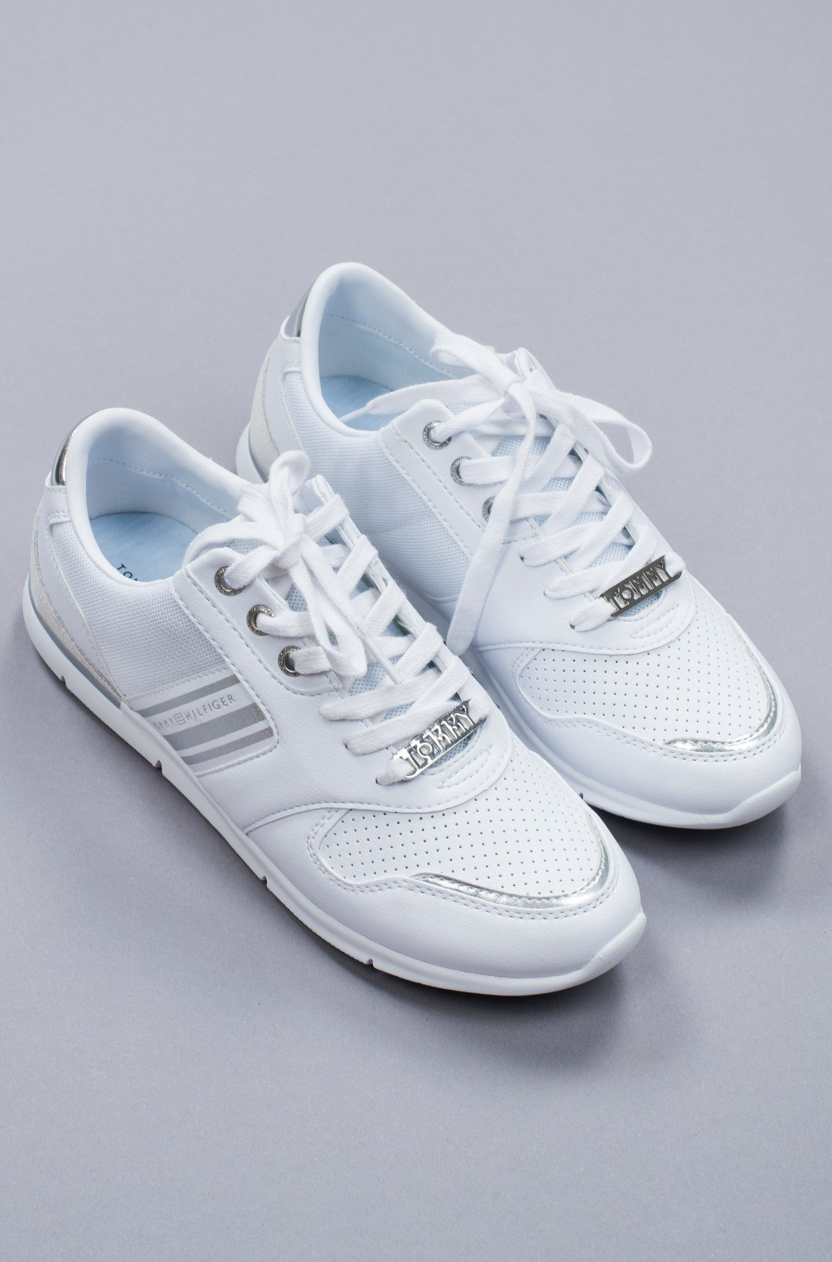 Tennised METALLIC LIGHTWEIGHT SNEAKERS-full-2