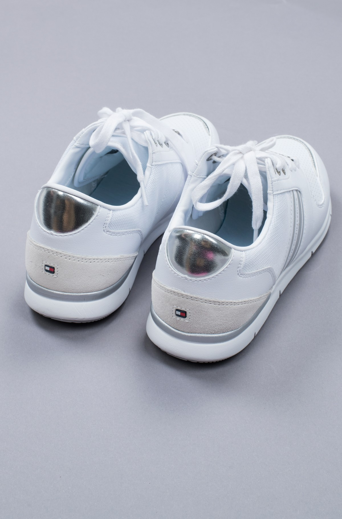 Tennised METALLIC LIGHTWEIGHT SNEAKERS-full-4