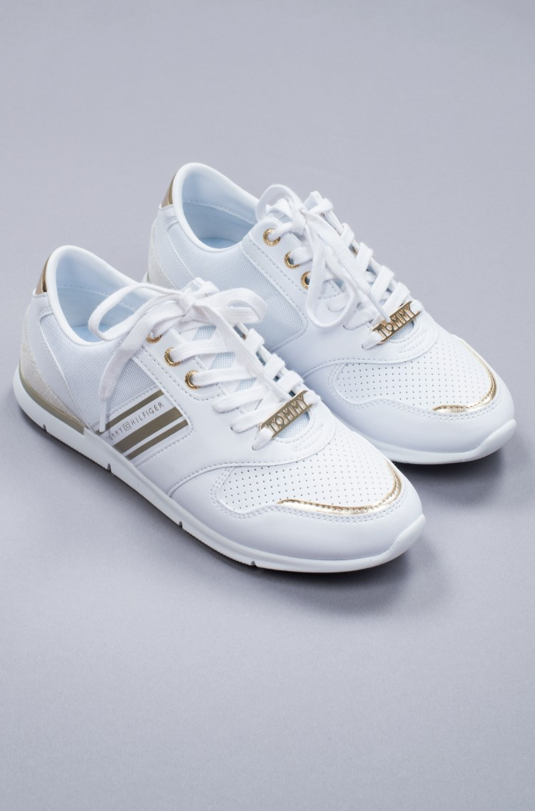 Теннисные туфли METALLIC LIGHTWEIGHT SNEAKERS-1