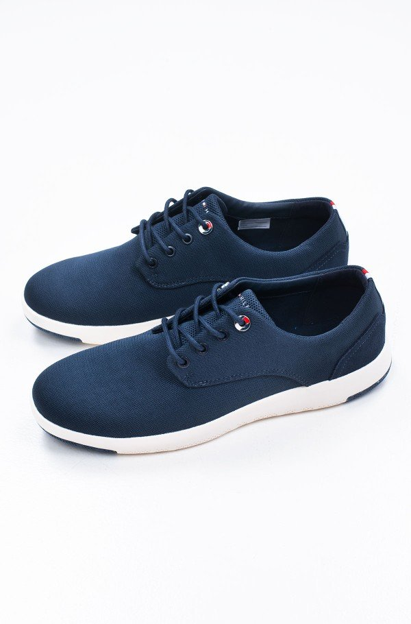 LIGHTWEIGHT TEXTILE LACE UP SHOE-hover