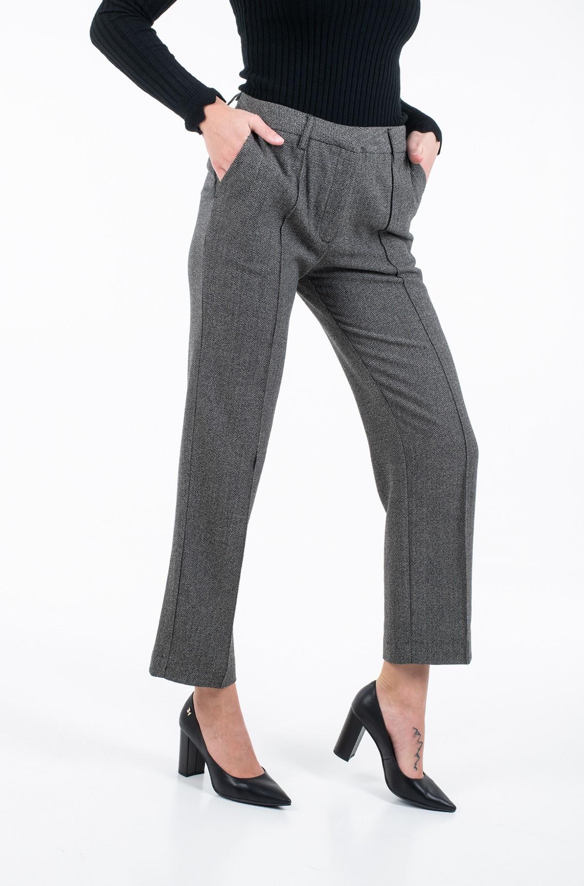 Kelnės su kantu ROSENDA/PL211353-full-2