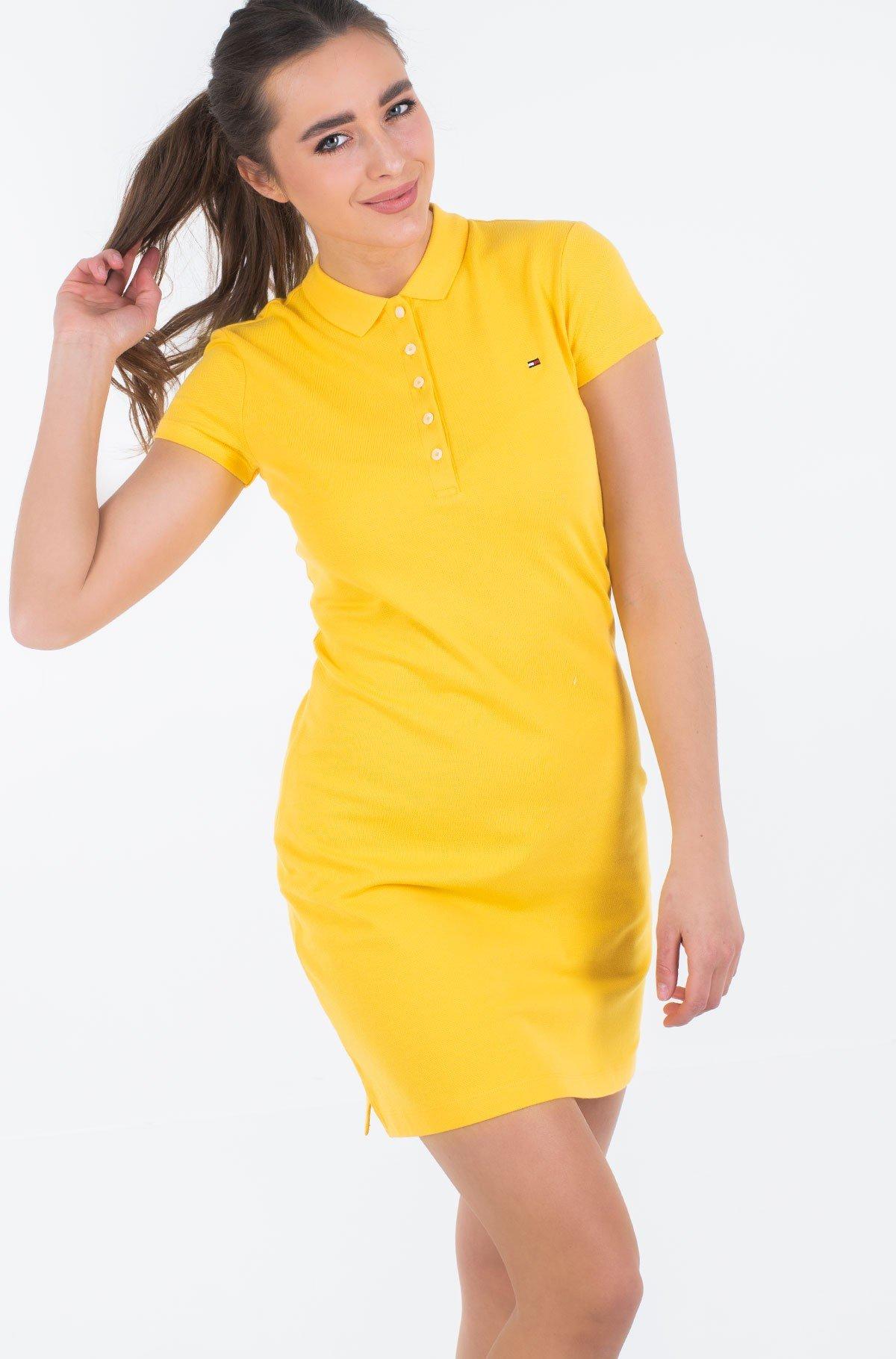 Polo suknelė SLIM POLO DRESS-full-1