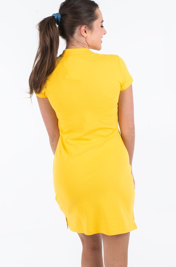 SLIM POLO DRESS-hover