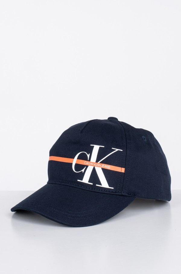 MONOGRAM STRIPE BB CAP