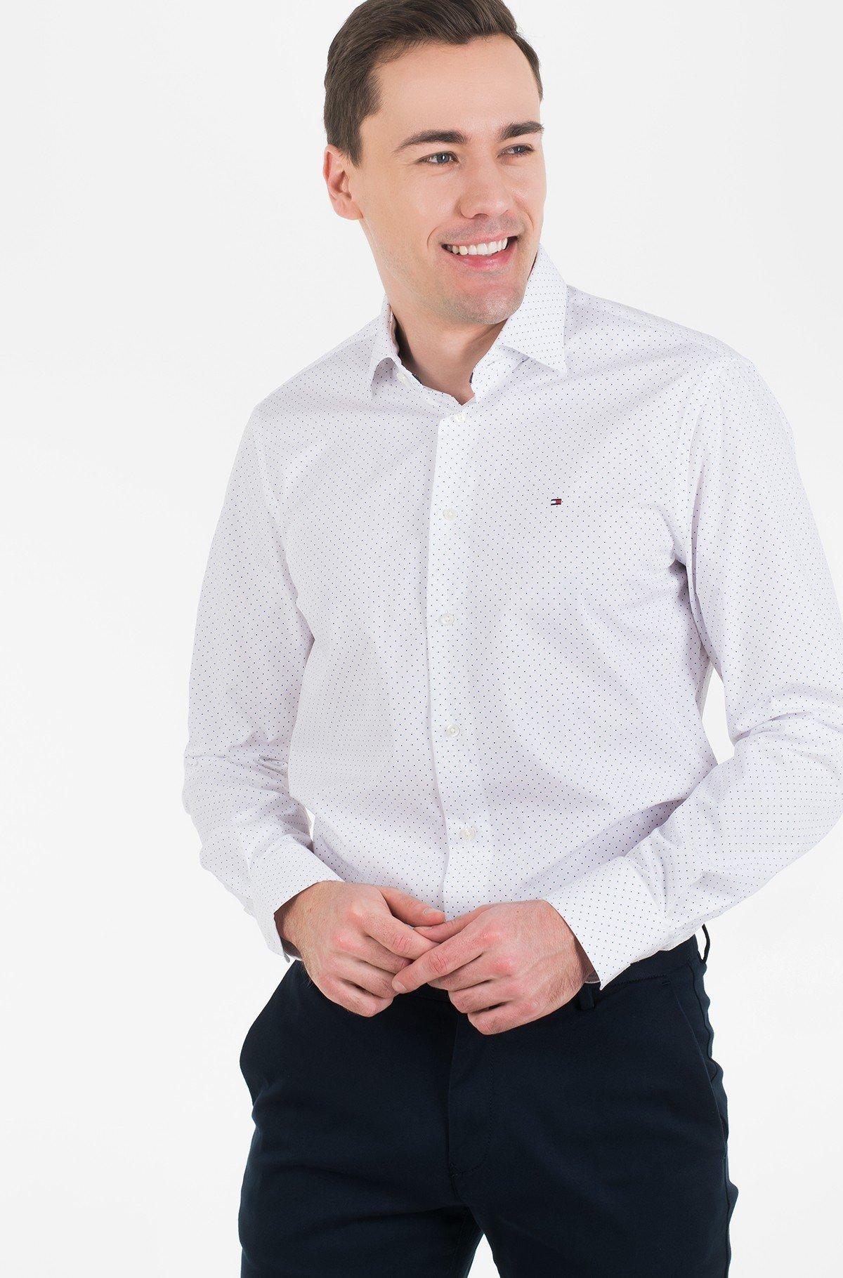Marškiniai POPLIN DOT CLASSIC SHIRT-full-2