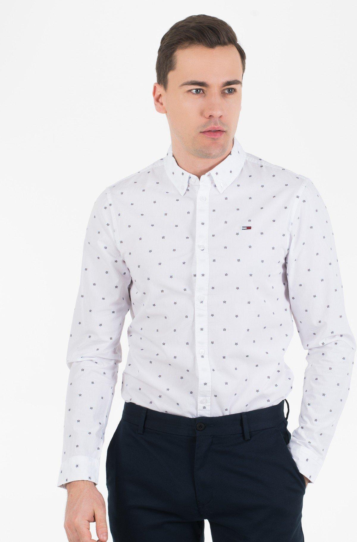 Marškiniai TJM NOVEL DOBBY POPLIN SHIRT-full-1
