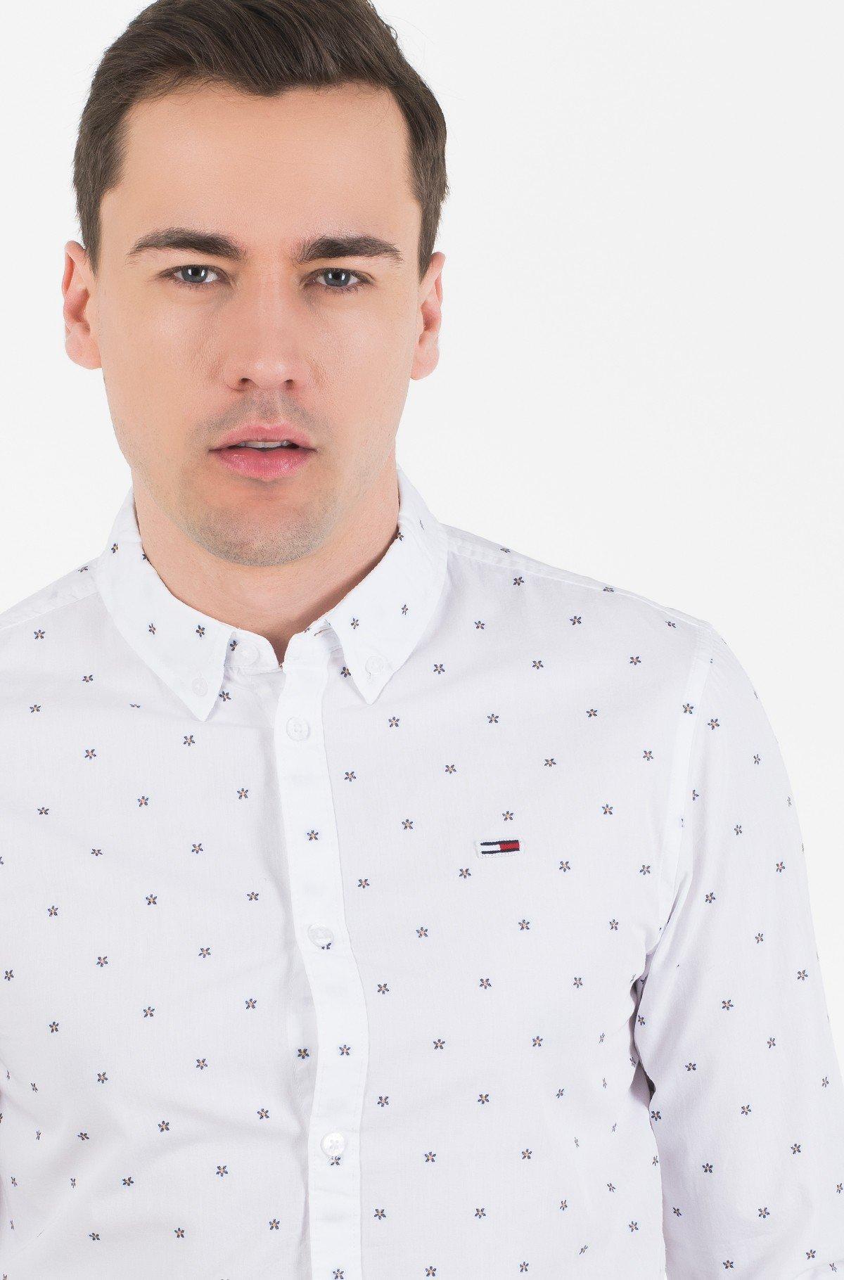 Marškiniai TJM NOVEL DOBBY POPLIN SHIRT-full-2