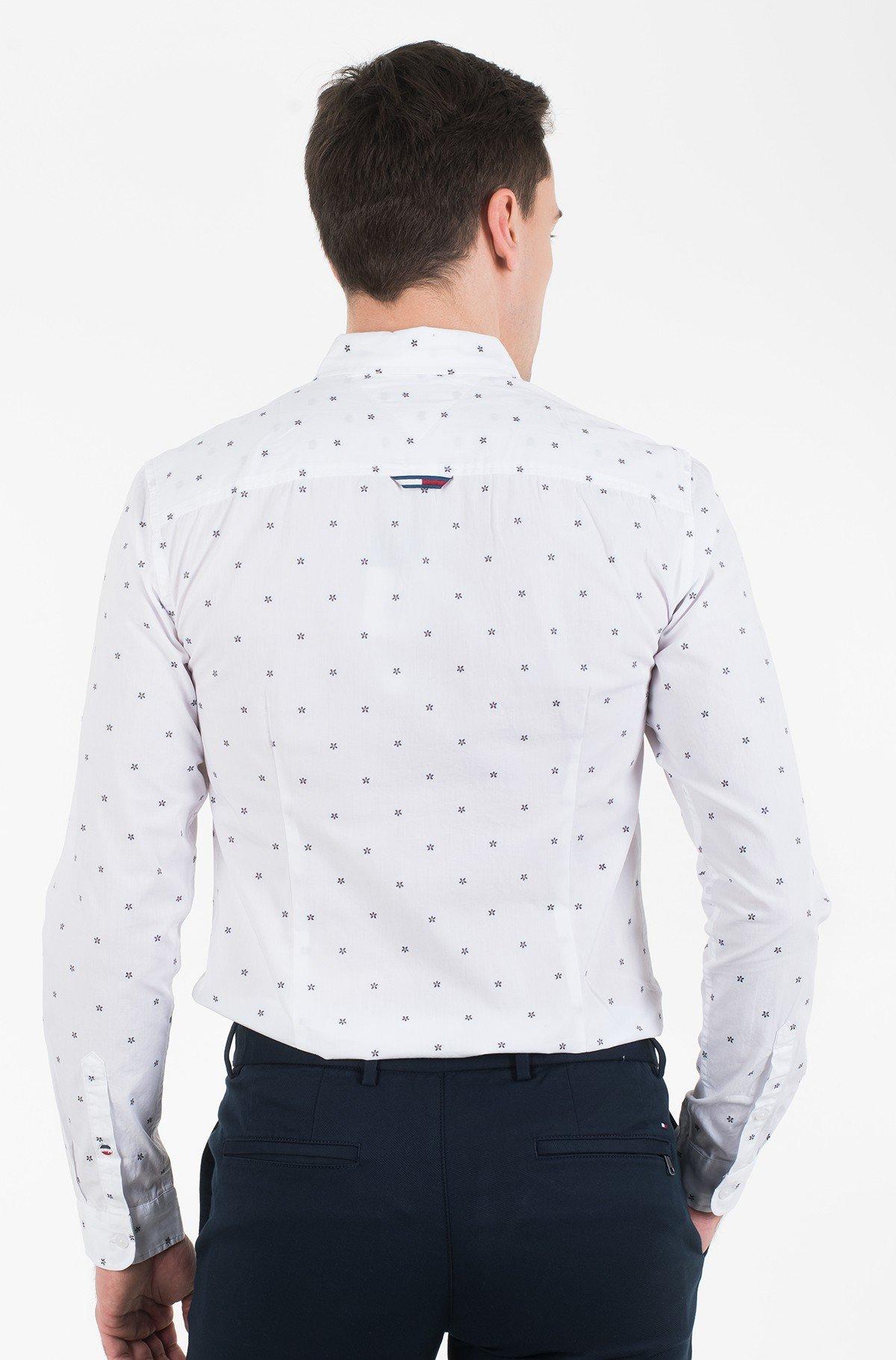 Marškiniai TJM NOVEL DOBBY POPLIN SHIRT-full-3