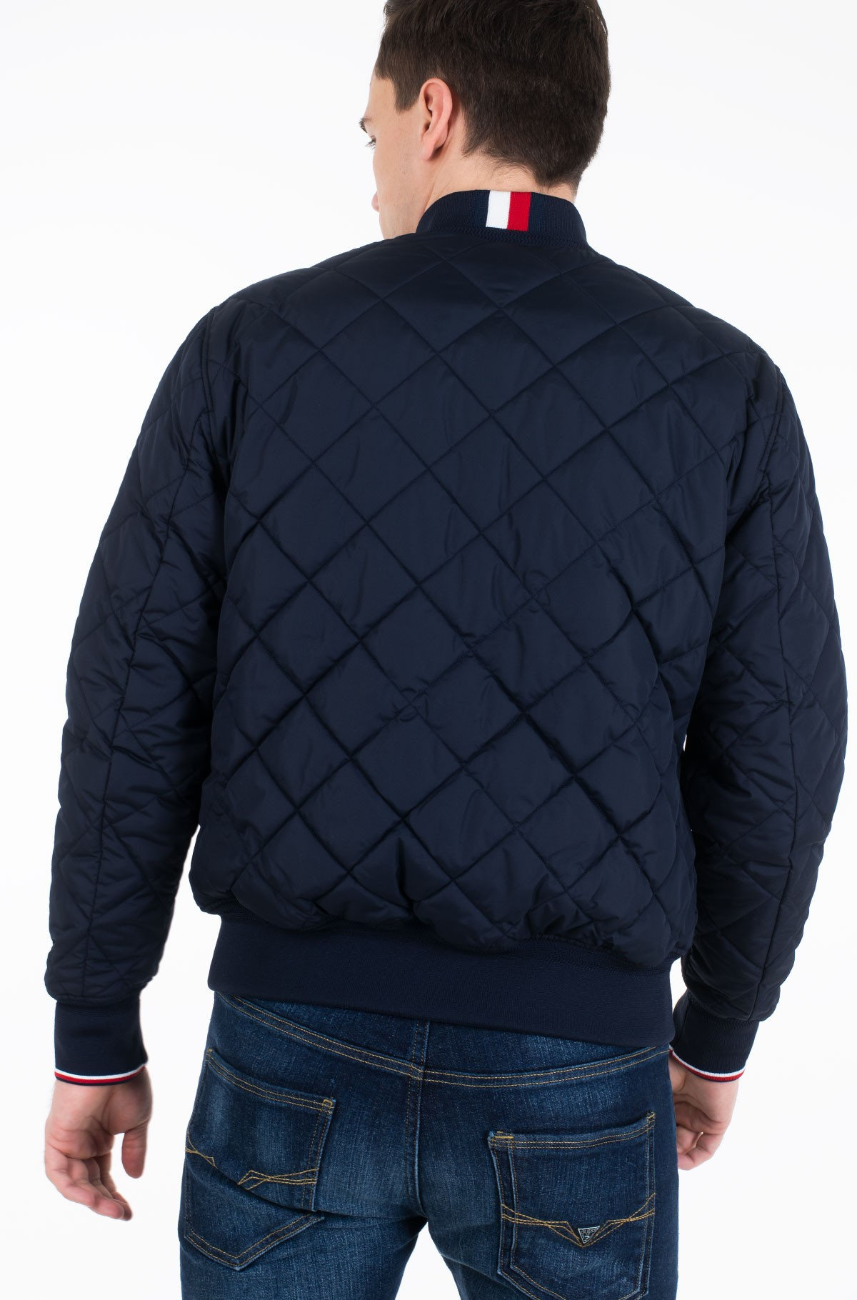 Striukė CHEVRON QUILTED BOMBER-full-3
