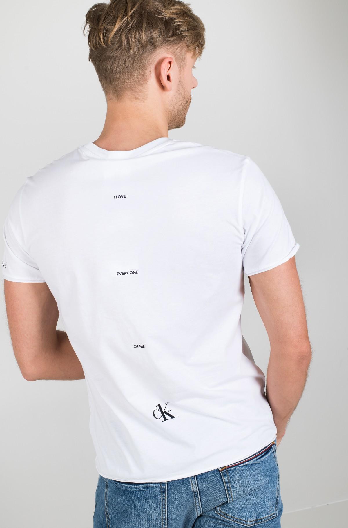 Marškinėliai SMALL LOGO REGULAR SS TEE-full-2