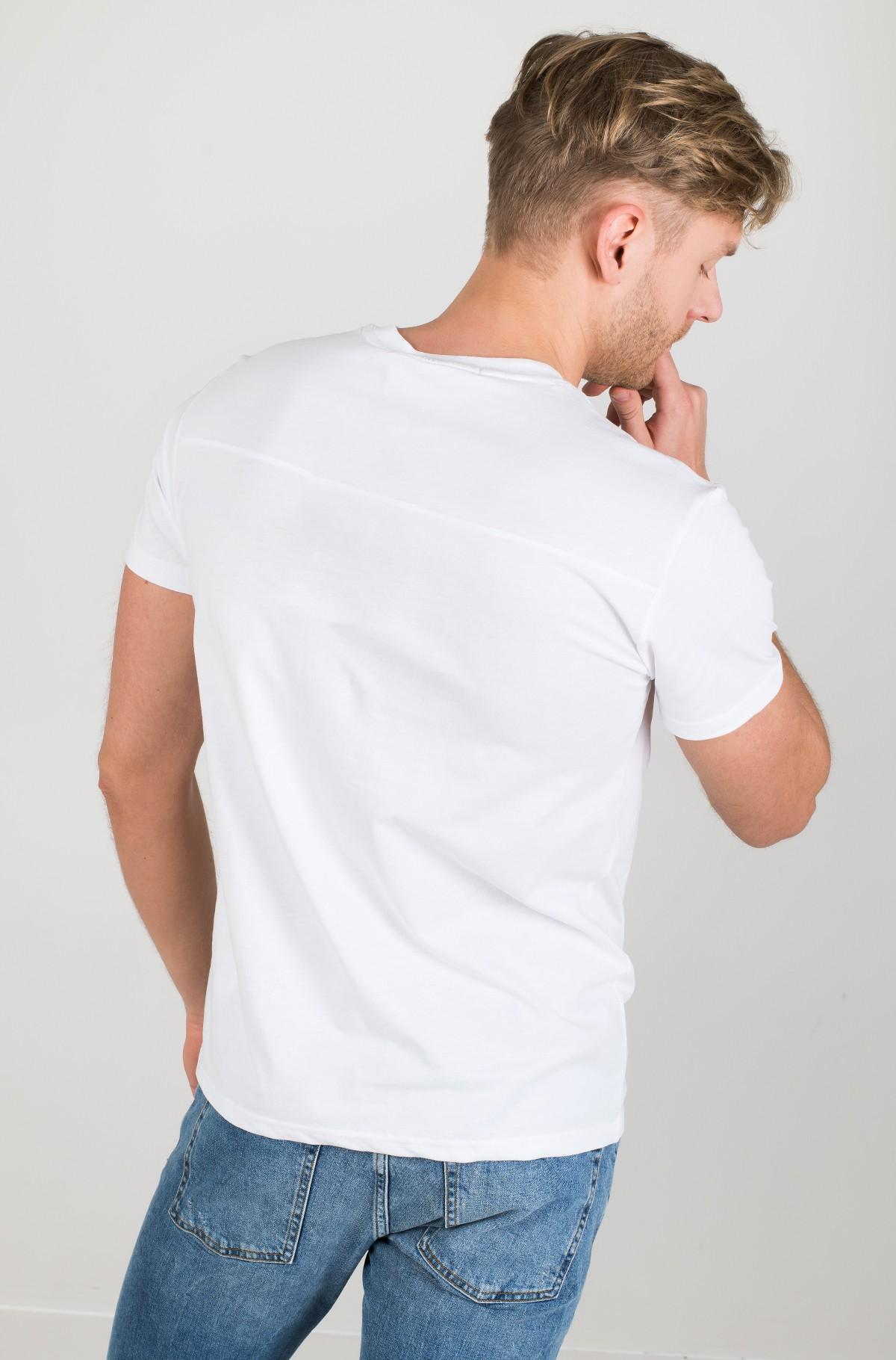 Marškinėliai CK ROUND LOGO REG TEE-full-2