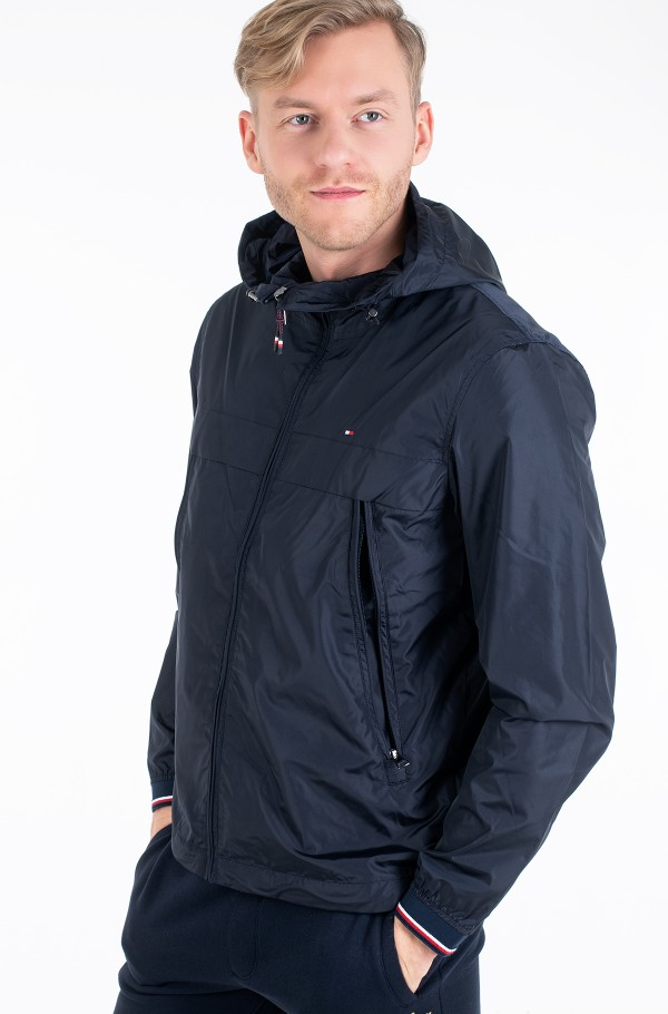 LIGHT WEIGHT HOODED JACKET-hover