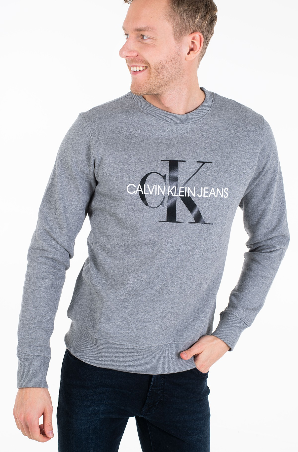 Džemperis ICONIC MONOGRAM CREWNECK-full-1