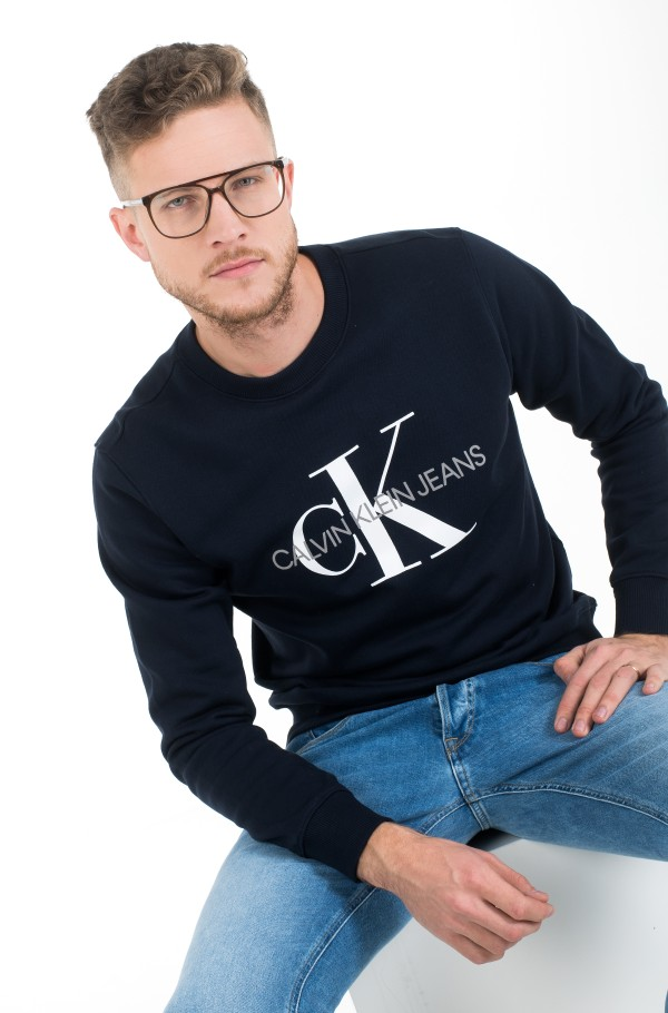 ICONIC MONOGRAM CREWNECK