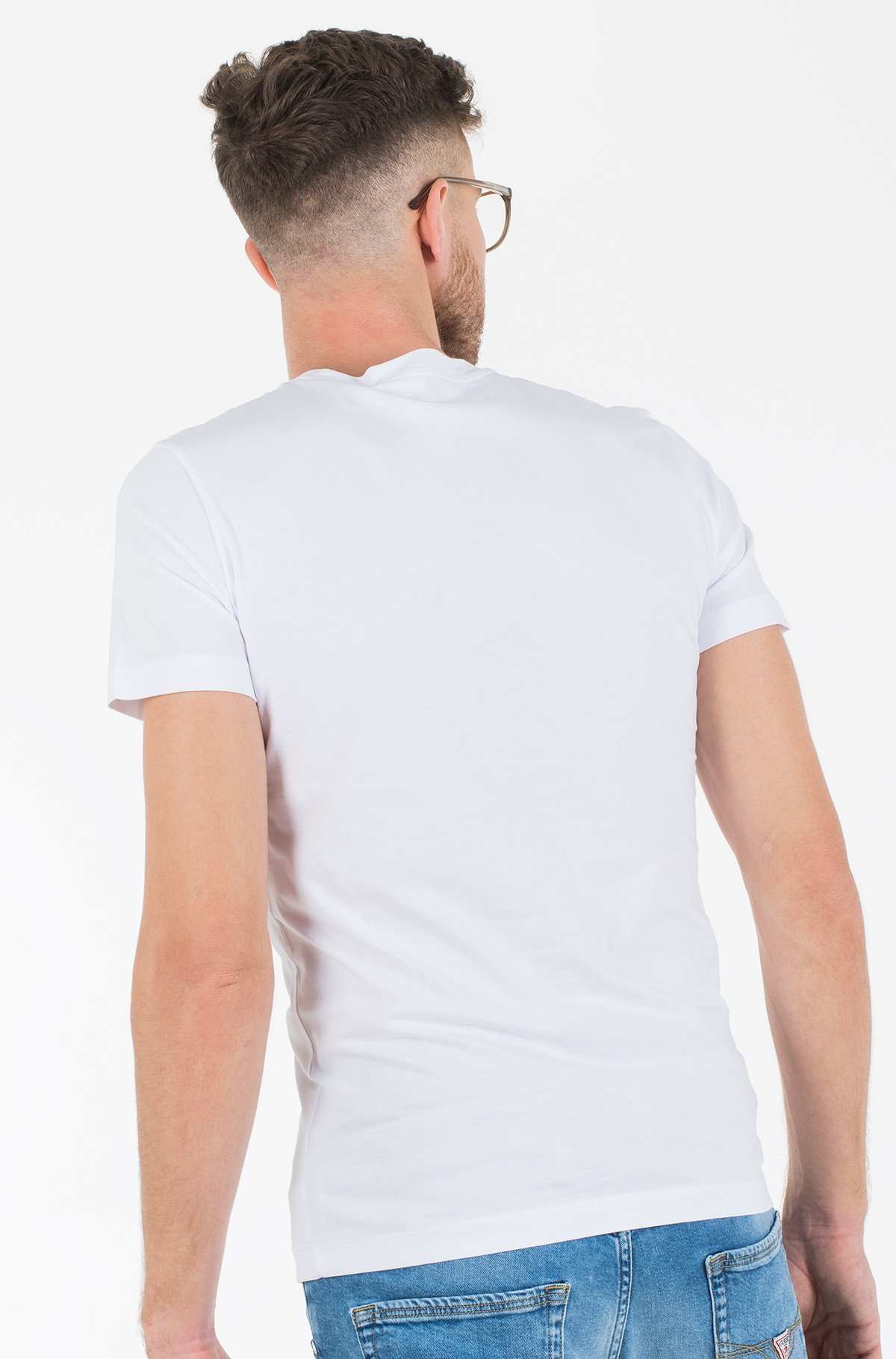 T-särk ICONIC MONOGRAM SS SLIM TEE-full-2