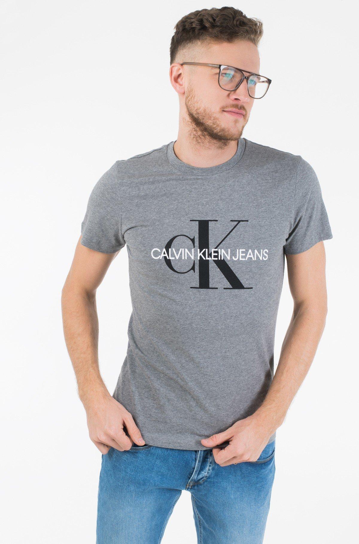 T-shirt ICONIC MONOGRAM SS SLIM TEE-full-2