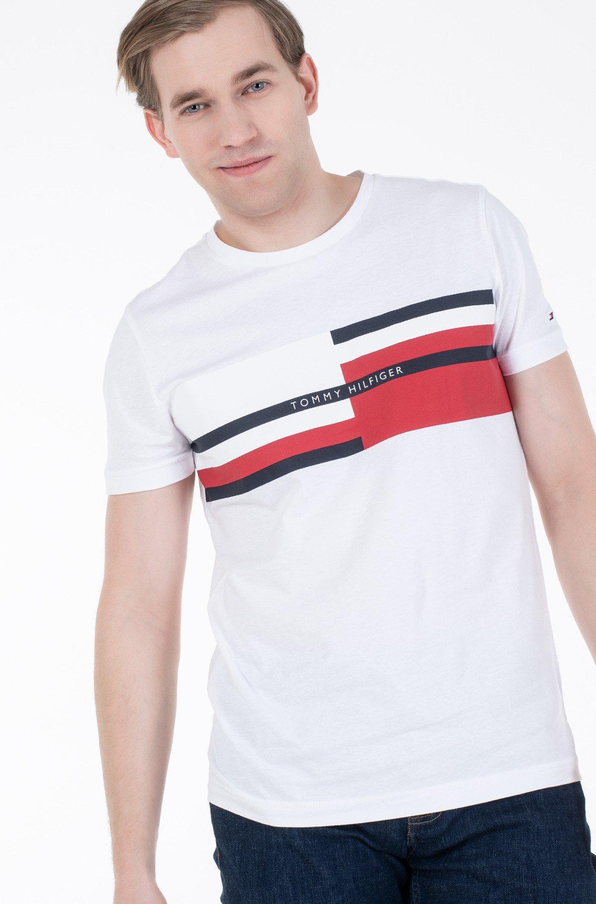 Marškinėliai ABSTRACT STRIPE TEE-full-1