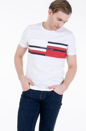 Marškinėliai ABSTRACT STRIPE TEE-2