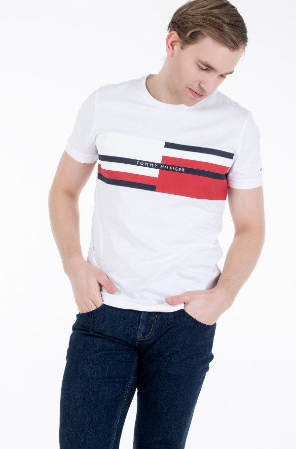 ABSTRACT STRIPE TEE-hover