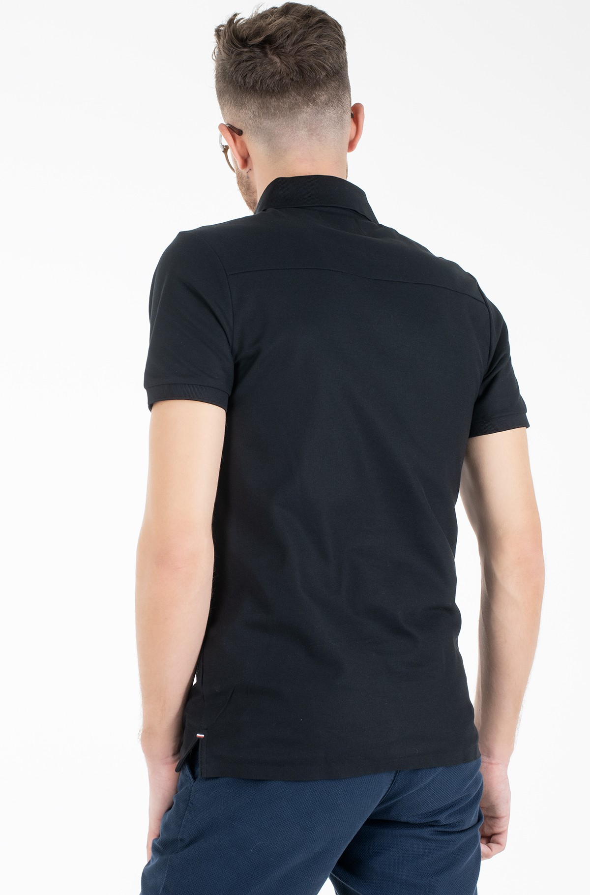 Polokrekls  1 MB TECH LOGO SLIM POLO-full-2