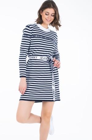 Megzta suknelė TJW BELTED SWEATER DRESS-2