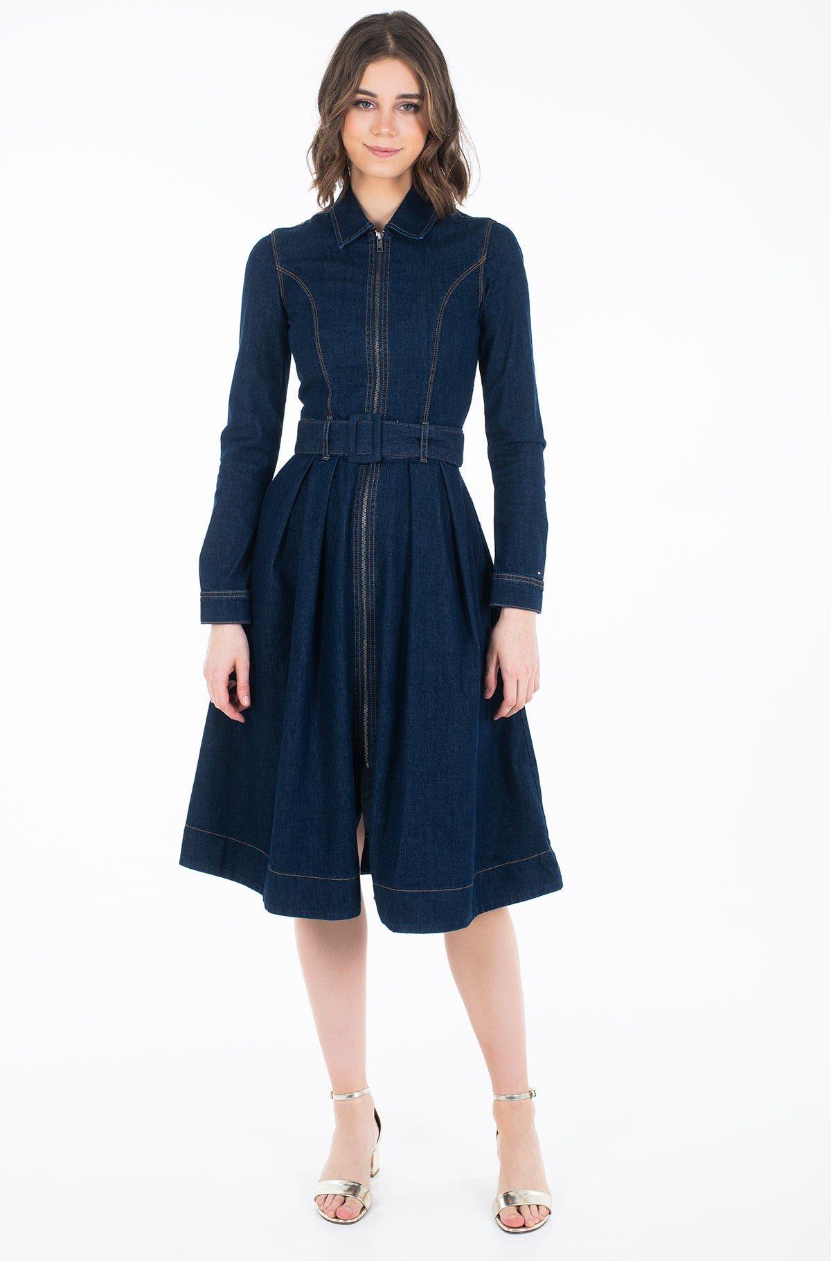 Džinsinė suknelė  DRESS UTA-full-1