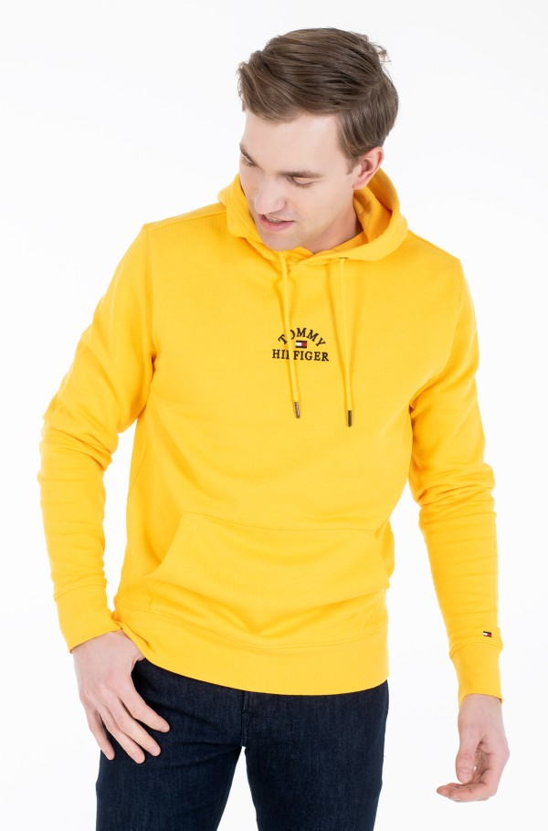 BASIC EMBROIDERED HOODY-hover