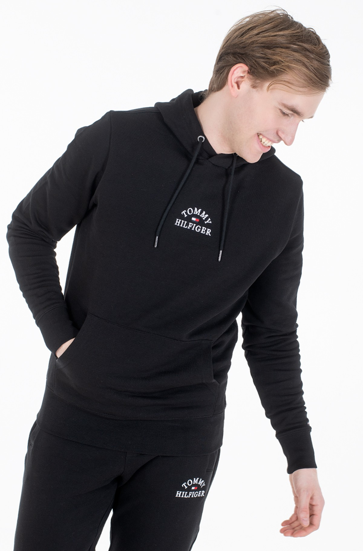 Sporta džemperis BASIC EMBROIDERED HOODY-full-2