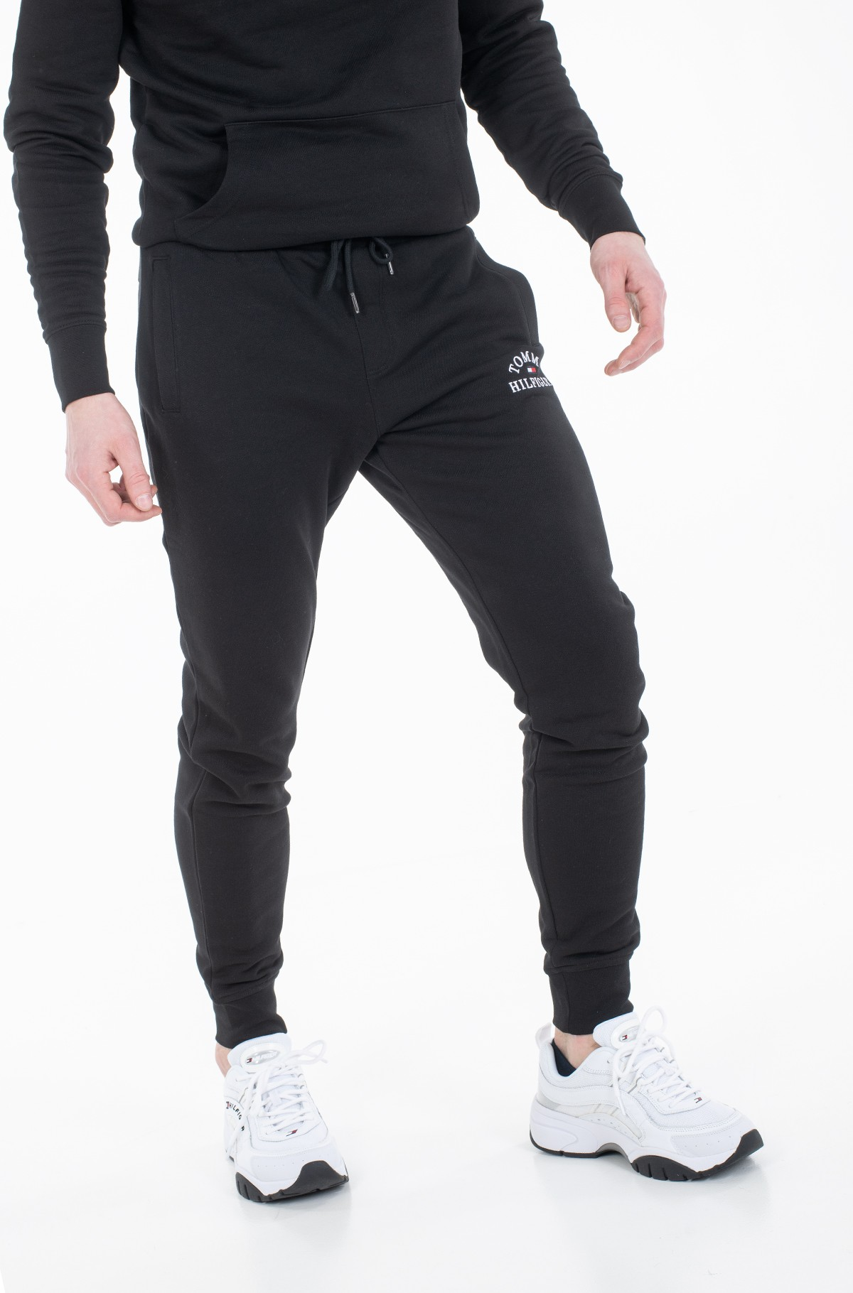 Sportinės kelnės BASIC EMBROIDERED SWEATPANTS-full-1