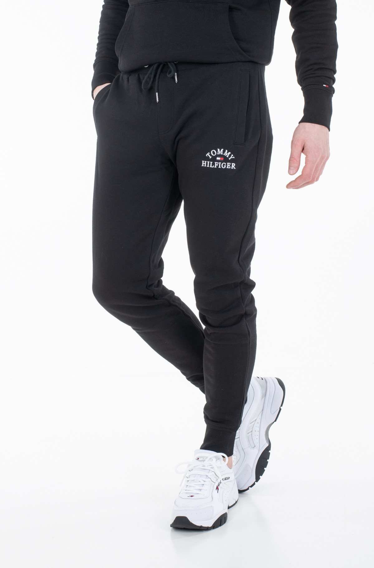 Sportinės kelnės BASIC EMBROIDERED SWEATPANTS-full-2