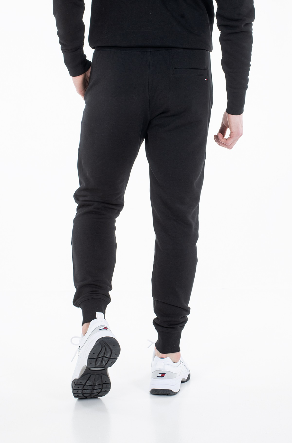 Sportinės kelnės BASIC EMBROIDERED SWEATPANTS-full-3