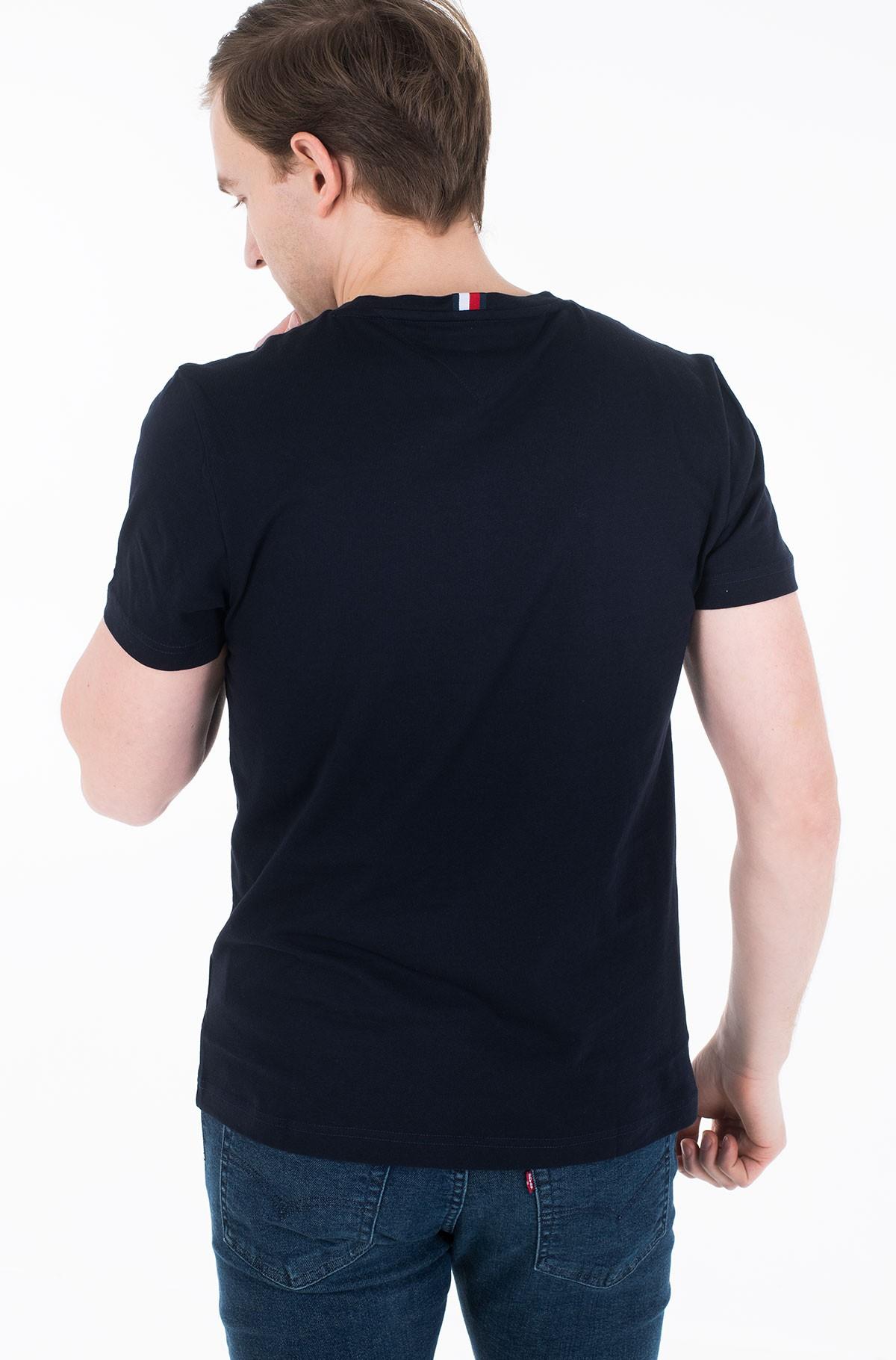Marškinėliai BLOCK STRIPE HILFIGER TEE-full-2