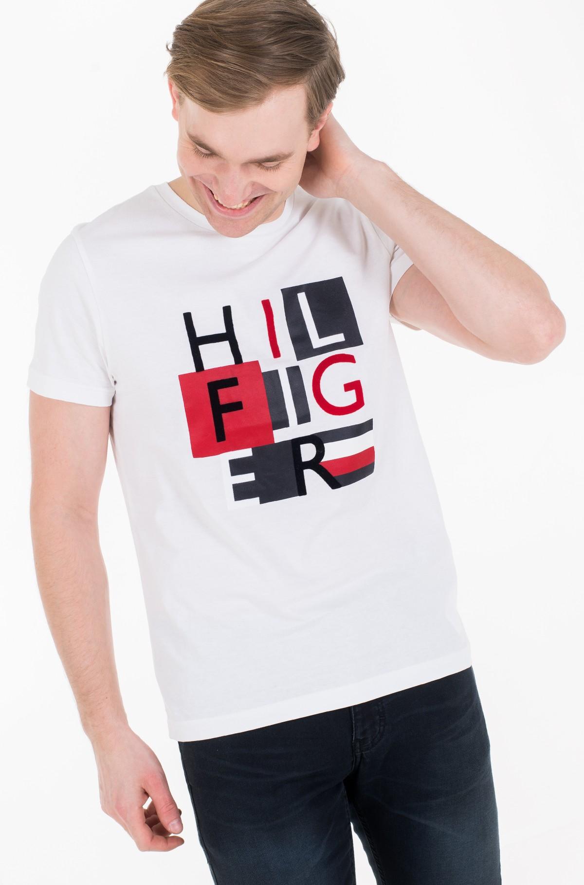 Marškinėliai HILFIGER SQUARES TEE-full-1